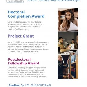 Details of AMS Grants for 2020